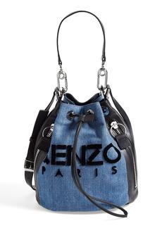 KENZO Denim Bucket Bag