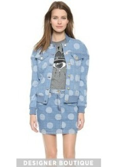 KENZO Denim Dots & Stripes Jacket