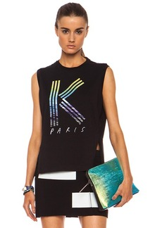 "KENZO <div class=""product_name"">K Printed Cotton Tank</div>"