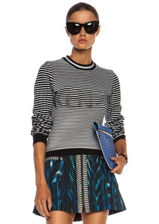 """KENZO <div class=""""product_name"""">Ribbed Cotton Logo Pullover</div>"""