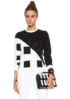 "KENZO <div class=""product_name"">Squares Printed Sweatshirt</div>"