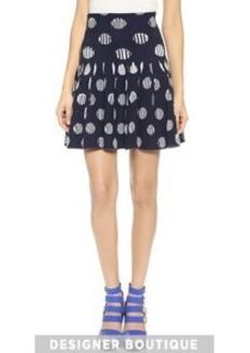 KENZO Dots & Stripes Skirt
