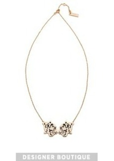 KENZO Double Tiger Necklace