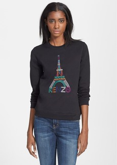 KENZO Eiffel Tower Cotton Sweatshirt
