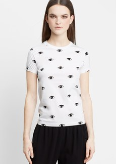 KENZO Eye Print Cotton T-Shirt