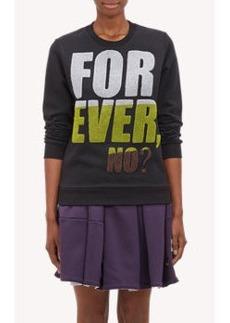 "Kenzo ""FOREVER, NO?"" Sweatshirt"