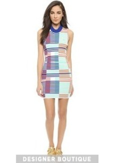 KENZO Intarsia Rib Fitted Dress