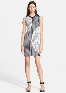 KENZO Jacquard Knit Body-Con Dress