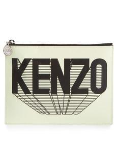 KENZO Logo Printed Pouch