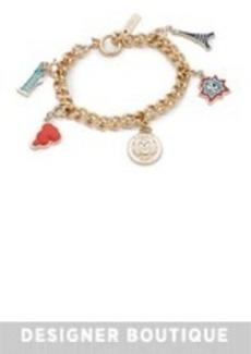 KENZO Lucky Gilt & Charm Bracelet