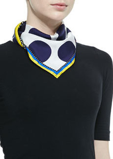 Kenzo Medallions Double Face Scarf