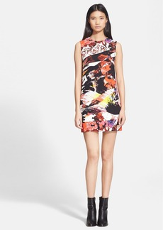 KENZO 'Mineral' Sleeveless Print Crepe Dress