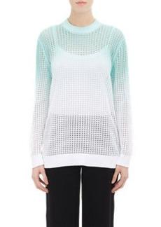 Kenzo Ombré Open-Knit Sweater
