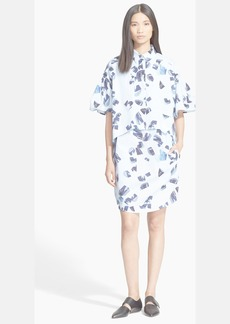 KENZO Oversize Cotton Poplin Shirtdress