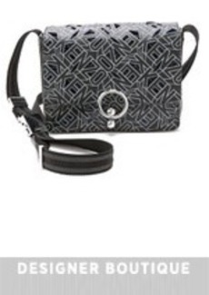 KENZO Perforated Satchel Bag