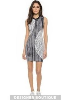 KENZO Pin Stripes Combo Dress