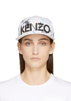 Kenzo Pink & Green Pastel Torn Flowers New Era Edition Cap