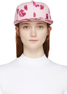Kenzo Pink Metallic Curls New Era Edition Cap