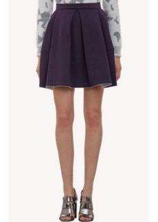 Kenzo Pleated Fleece Skirt