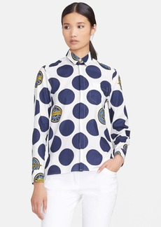 KENZO Polka Dot Cotton Shirt