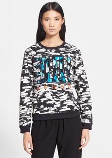 KENZO Print Neoprene Sweatshirt