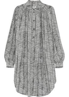 KENZO Printed cotton shirt dress