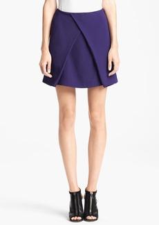 KENZO Satin Back Crepe Skirt