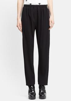 KENZO Satin Stripe Crepe Pants