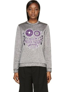 Kenzo Silver Monster Lurex Sweater