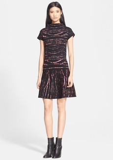 KENZO Spray Stripe Jacquard Dress