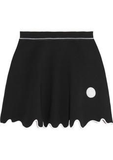 KENZO Stretch-neoprene mini skirt