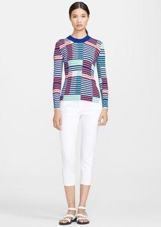 KENZO Stripe Ribbed Knit Sweater