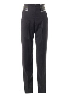 Kenzo Tailored wool-crepe trousers