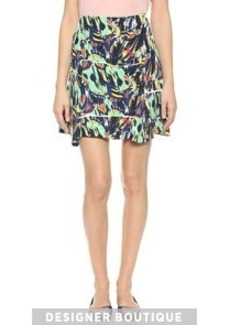 KENZO Torn Flowers Skirt