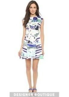 KENZO Torn Paper Dress