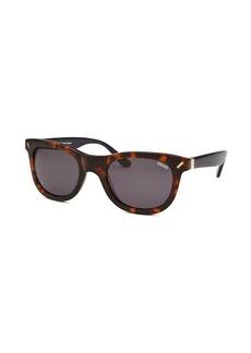 Kenzo Women's Diverse Wayfarer Dark Havana Sunglasses