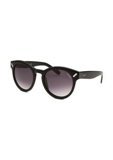 Kenzo Women's Round Black Sunglasses