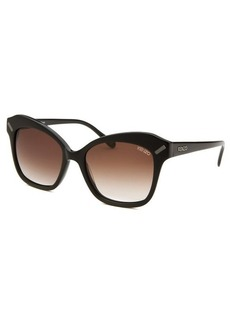 Kenzo Women's Square Black Sunglasses