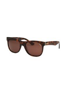 Kenzo Women's Square Havana Sunglasses