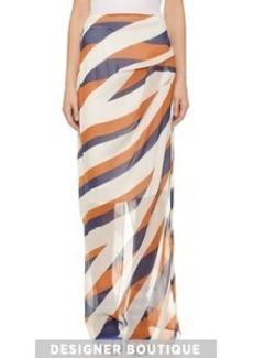 KENZO Z Stripes Maxi Skirt