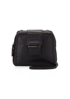 Kooba Andie Small Flap-Tab Crossbody Bag, Black