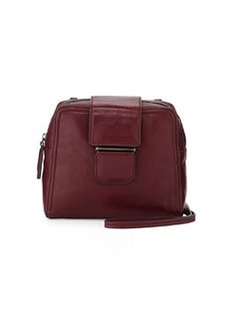 Kooba Andie Small Flap-Tab Crossbody Bag, Bordeaux