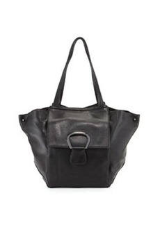 Kooba Avery Leather Shoulder Bag, Black