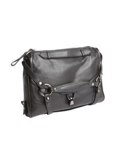 Kooba black leather 'Alexander' pocket hobo