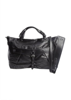 Kooba black leather 'Desmin' convertible bag