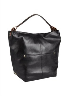 Kooba black leather 'Henry' large hobo