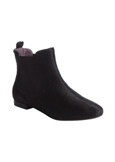 Kooba black pony hair 'Maggie' chelsea flat boots