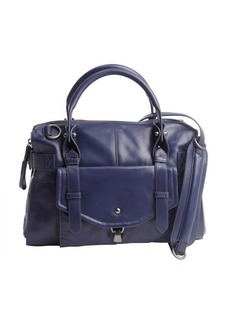Kooba blue indigo leather 'Kendal' crossbody bag