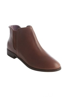 Kooba brown leather elastic gusset 'Margaret' ankle booties