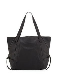Kooba Connor Pebbled Leather Tote Bag, Black